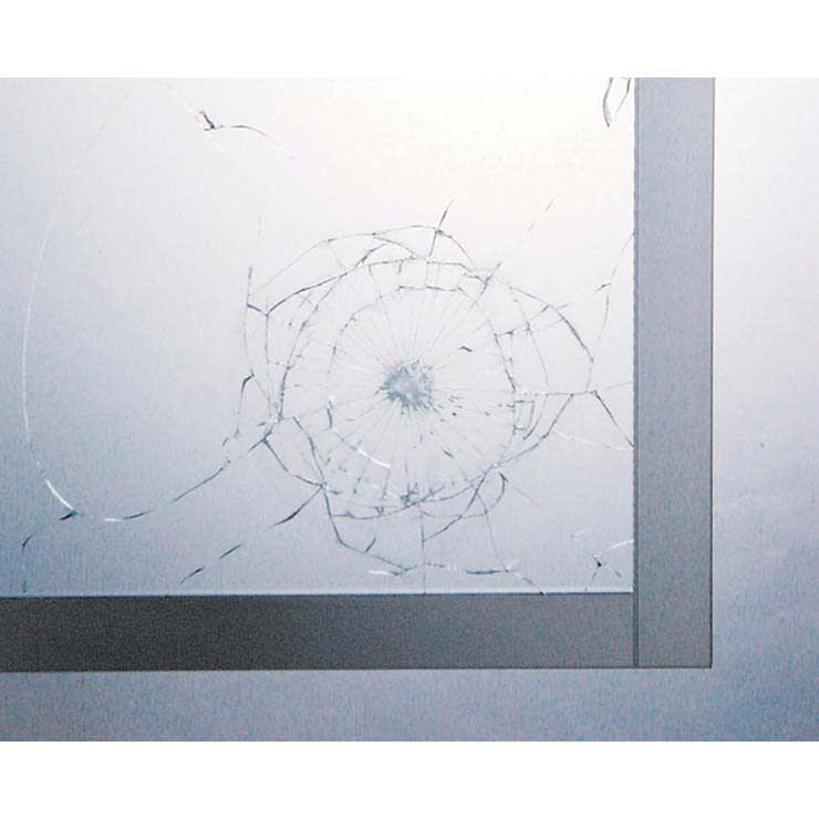 パモウナBW-120 輝く光沢のモダンリビングシリーズ テレビ台 幅120cm 飛散防止フィルム付の強化ガラスなので、万が一割れても飛び散らず安心です。
