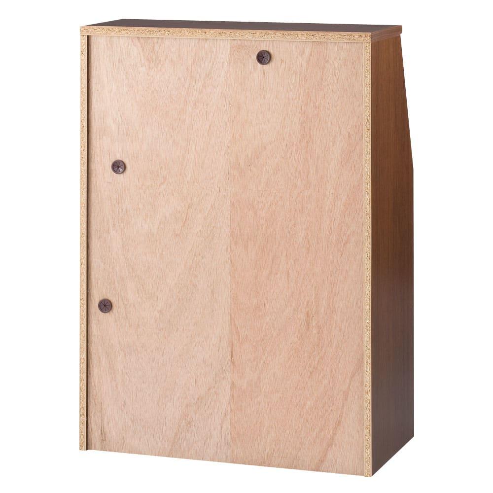 パイン天然木ライティングデスク 幅60.5cm 配線に便利な裏面仕様 ※写真は幅80.5cmタイプです