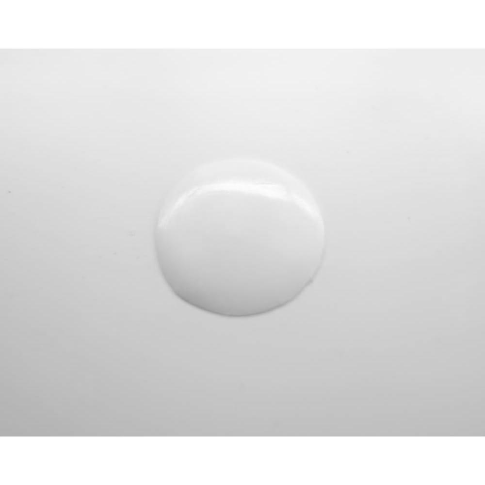 シンプルデスクシリーズ たっぷり奥行60cm深型デスク 幅180cm デスク天板奥には連結用穴があります。穴隠しのプラスチックキャップ付き。