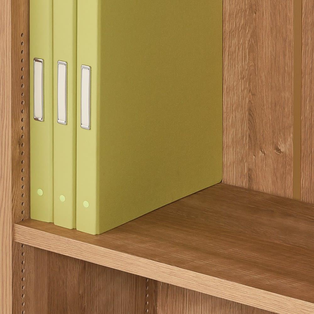 1台で壁いっぱいに本を収納!本好きのための壁面つっぱり本棚 本体幅60奥行29.5cm 奥行29.5cmは雑誌やA4ファイルの収納に。内寸奥行27.5cm