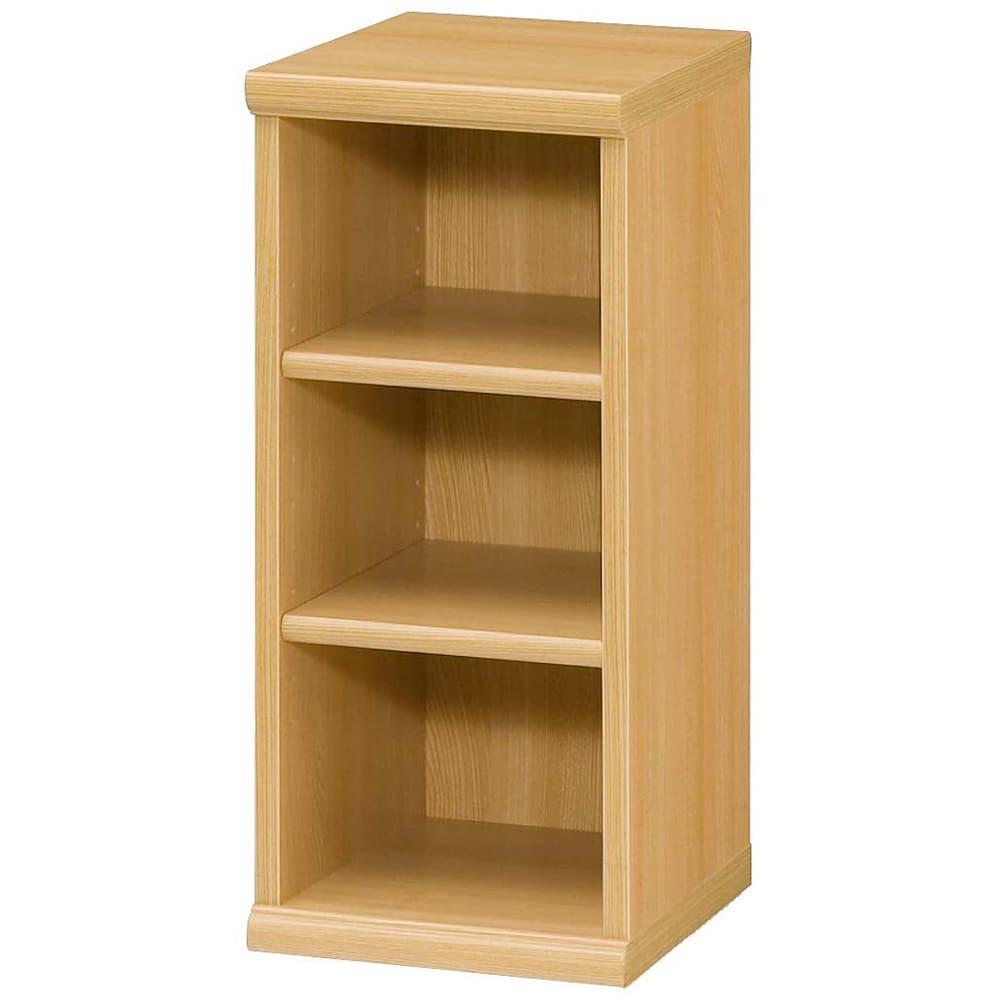 色とサイズが選べるオープン本棚 幅28.5cm高さ60cm (オ)ナチュラル