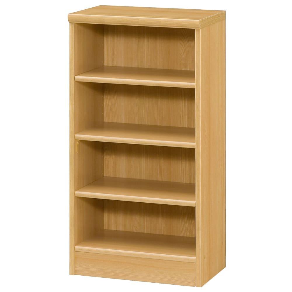 色とサイズが選べるオープン本棚 幅44.5cm高さ88.5cm (オ)ナチュラル
