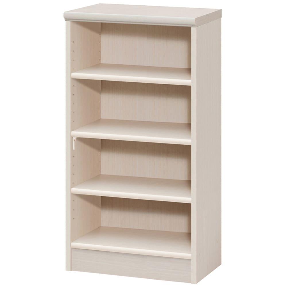 色とサイズが選べるオープン本棚 幅44.5cm高さ88.5cm (ア)ライトナチュラル