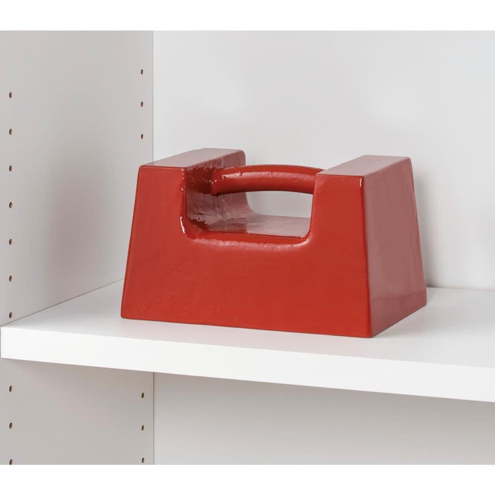 頑丈棚板がっちり書棚(頑丈本棚) ミドルタイプ 幅70cm 百科事典などの重量物も安心な、棚板耐荷重約40kg!(※写真はイメージ)