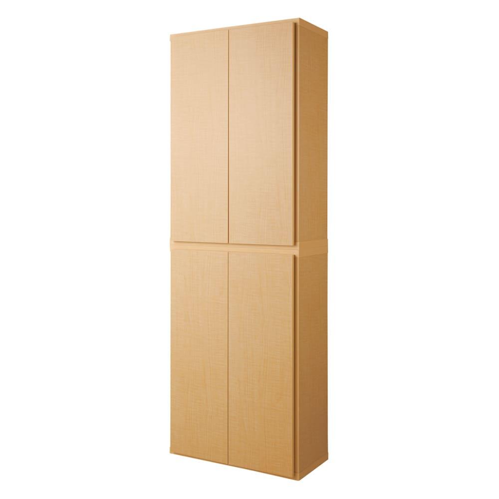 家具 収納 本棚 ラック シェルフ コミックラック 幅80奥行31cm(組立不要1cmピッチ頑丈棚板本棚 扉タイプ) 554323