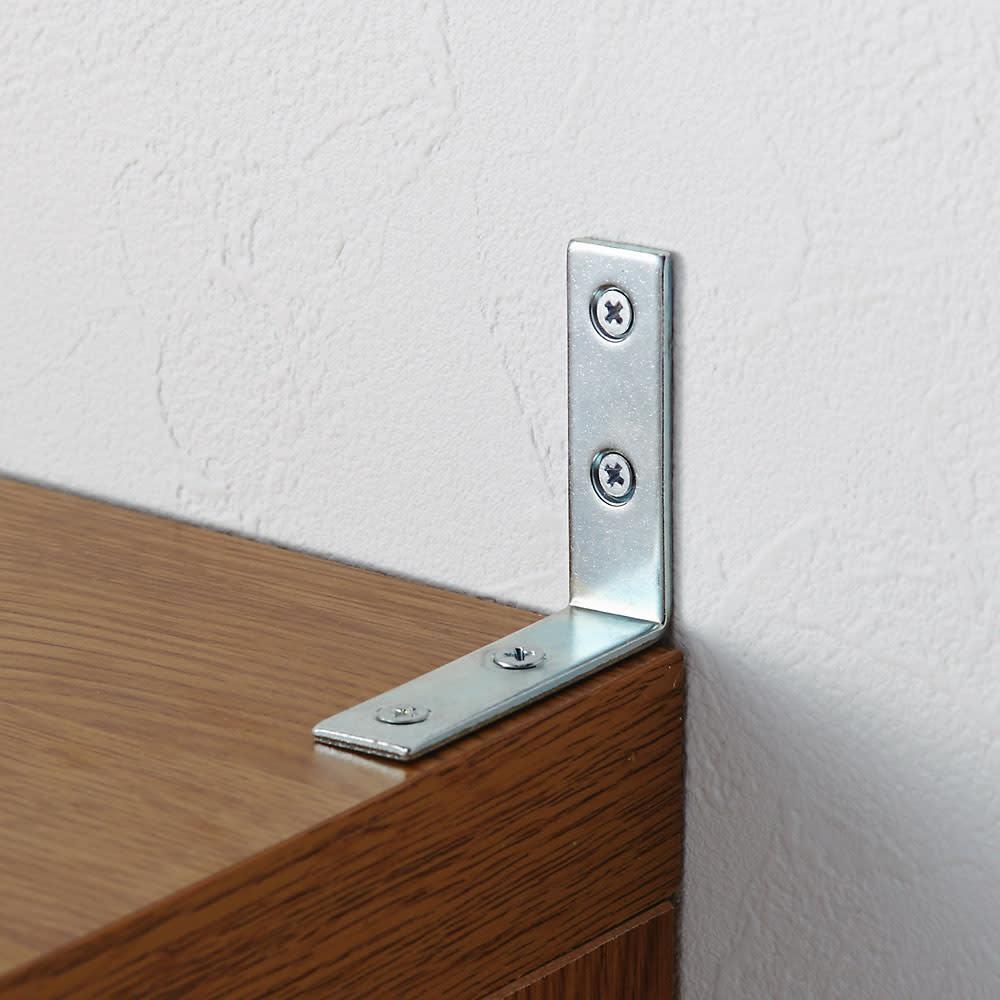 本格仕様 快適スライド書棚 タモ天然木扉付き・上置き付き 3列