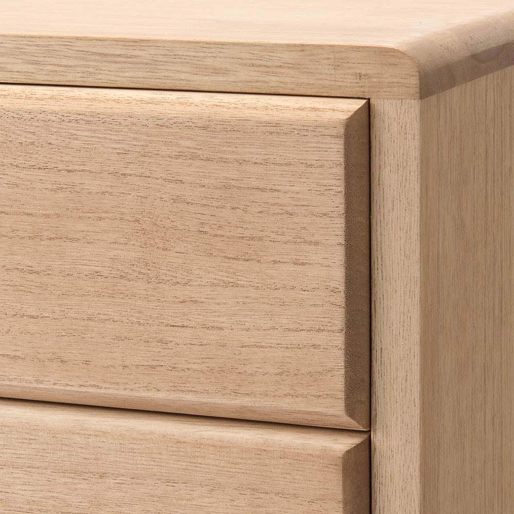 自分仕様に造れる 総桐ユニット箪笥 着物収納箪笥10段 前板はボリューム感があり上質さを引き立てます。