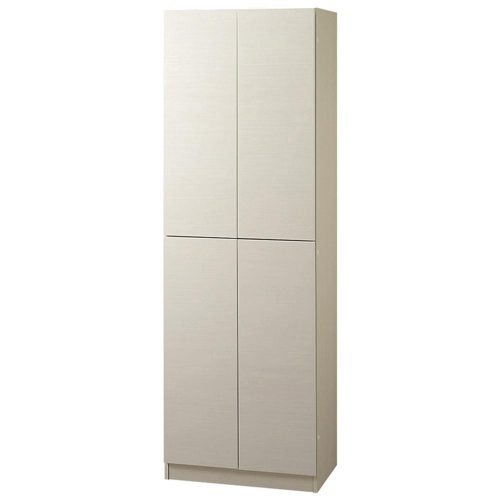 インテリアに合わせて8色&13タイプから選べるシューズボックス 扉 幅60高さ180.5cm (イ)ホワイトシカモア木目