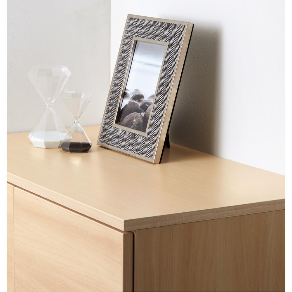 インテリアに合わせて8色&13タイプから選べるシューズボックス 幅90高さ95.5cm 水拭きOKで耐久性のある美しい天板。