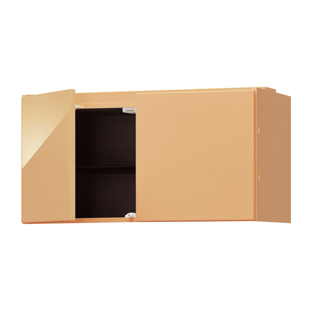 インテリアに合わせて8色&13タイプから選べるシューズボックス 上置き(右開き) 幅30cm高さ30~80cm 色見本(エ)ナチュラルオーク木目