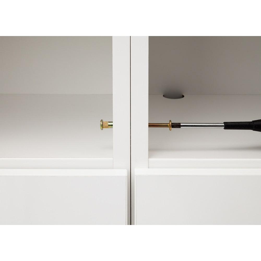 インテリアに合わせて8色&13タイプから選べるシューズボックス 扉 幅45高さ180.5cm(左開き)
