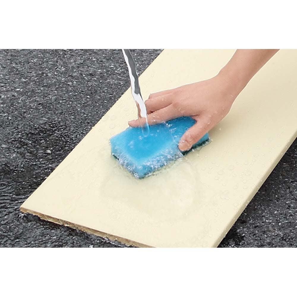 並べても使える 突っ張り式ユニットシューズボックス 天井高さ224~234cm用・幅80cm[紳士靴対応] 可動棚板は取り外して水洗いでき、清潔に保てます。