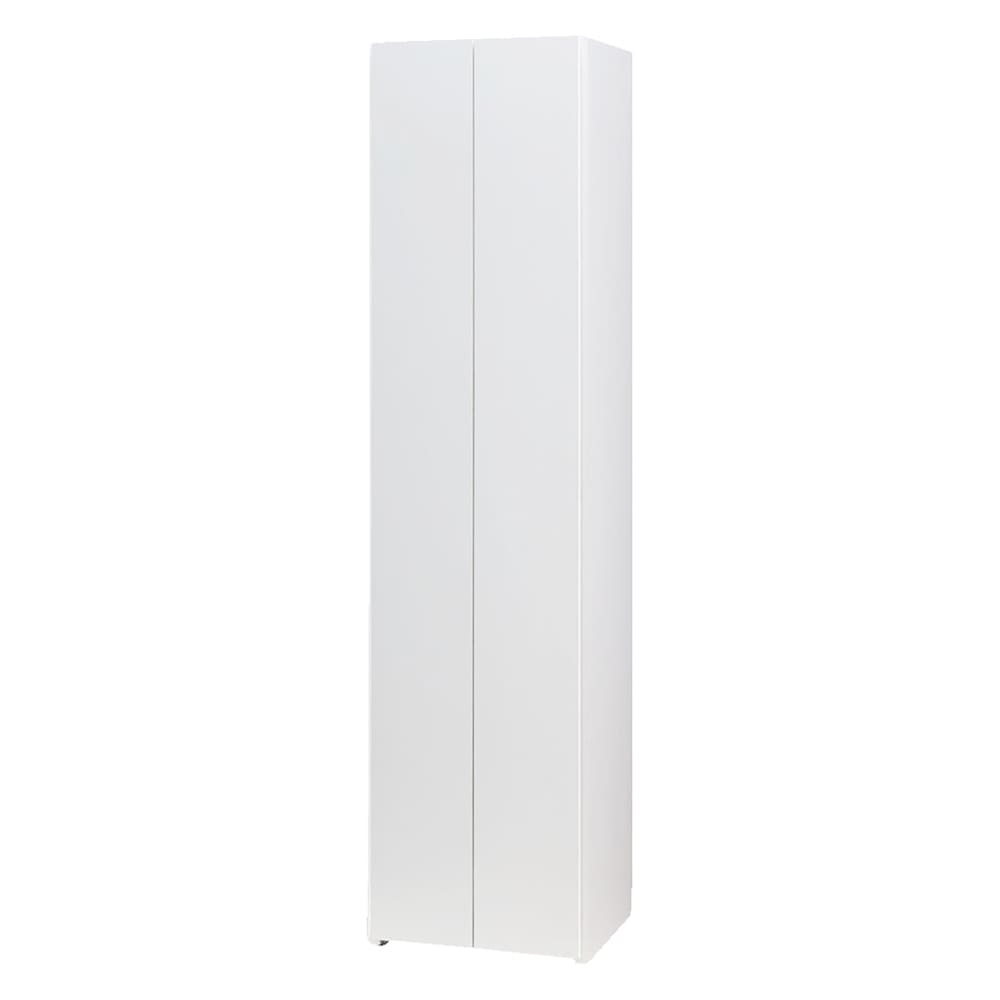 エントランス納戸シューズボックス バー付き 幅45cm (イ)ホワイト