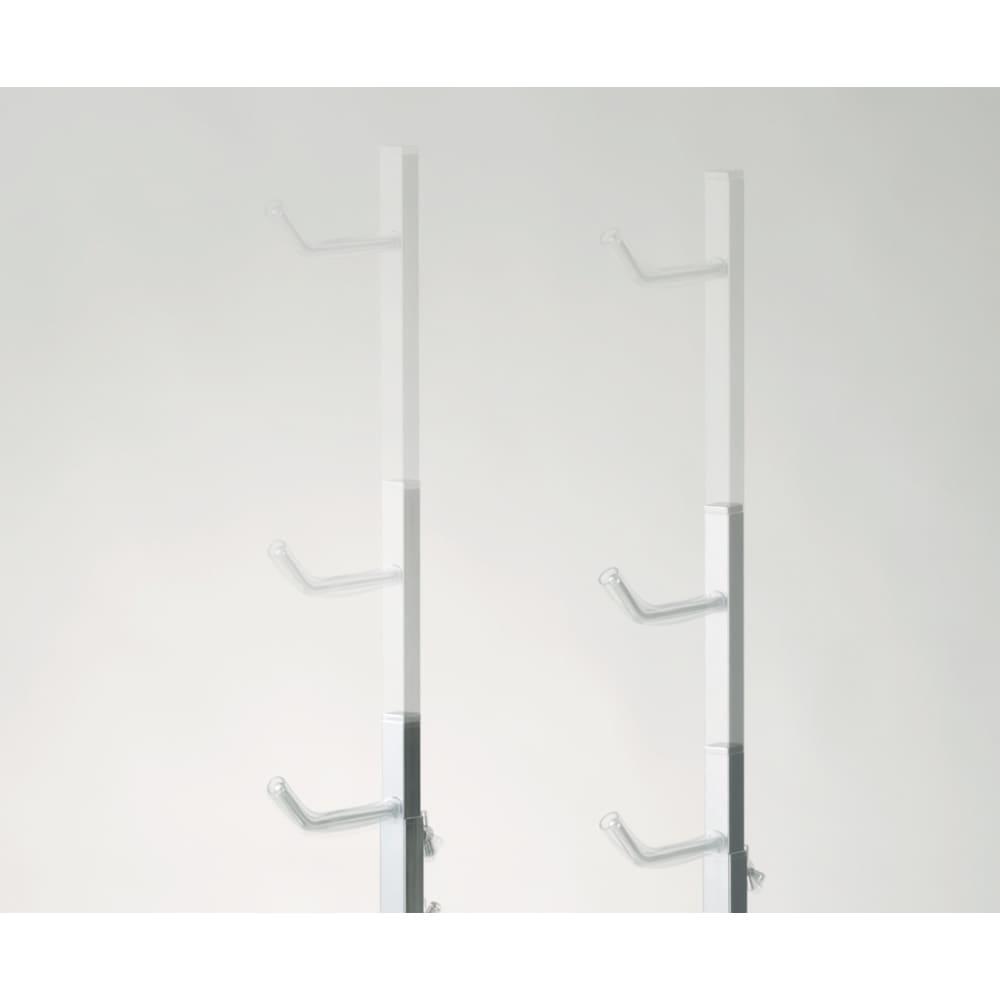 室内で使える ディスプレイサイクルスタンド 1台掛け 高さ71~110cmの間で無段階伸縮します。