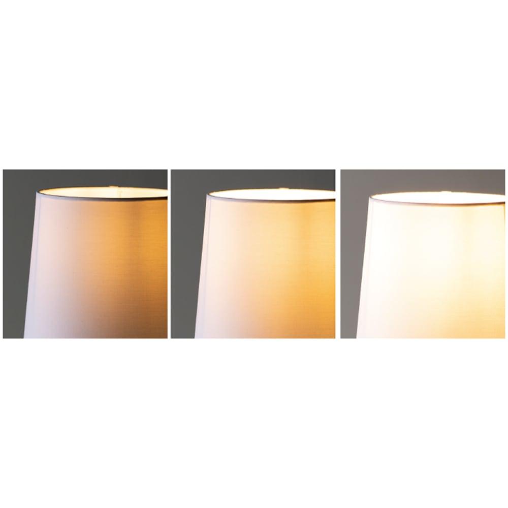 タッチセンサー付き木目調テーブルランプ 3段階調光。