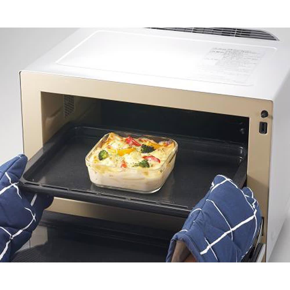 イワキ 耐熱ガラスパック&レンジシステム 7点セット オーブン料理のOK