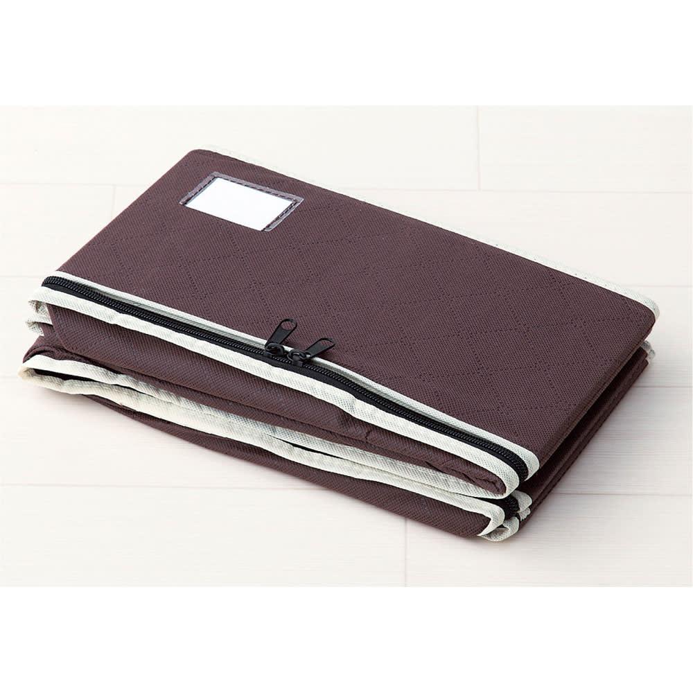 炭入り消臭着物一式収納ケース 4個組 着物と帯が一式入って、重ね置きもできる優れモノ。