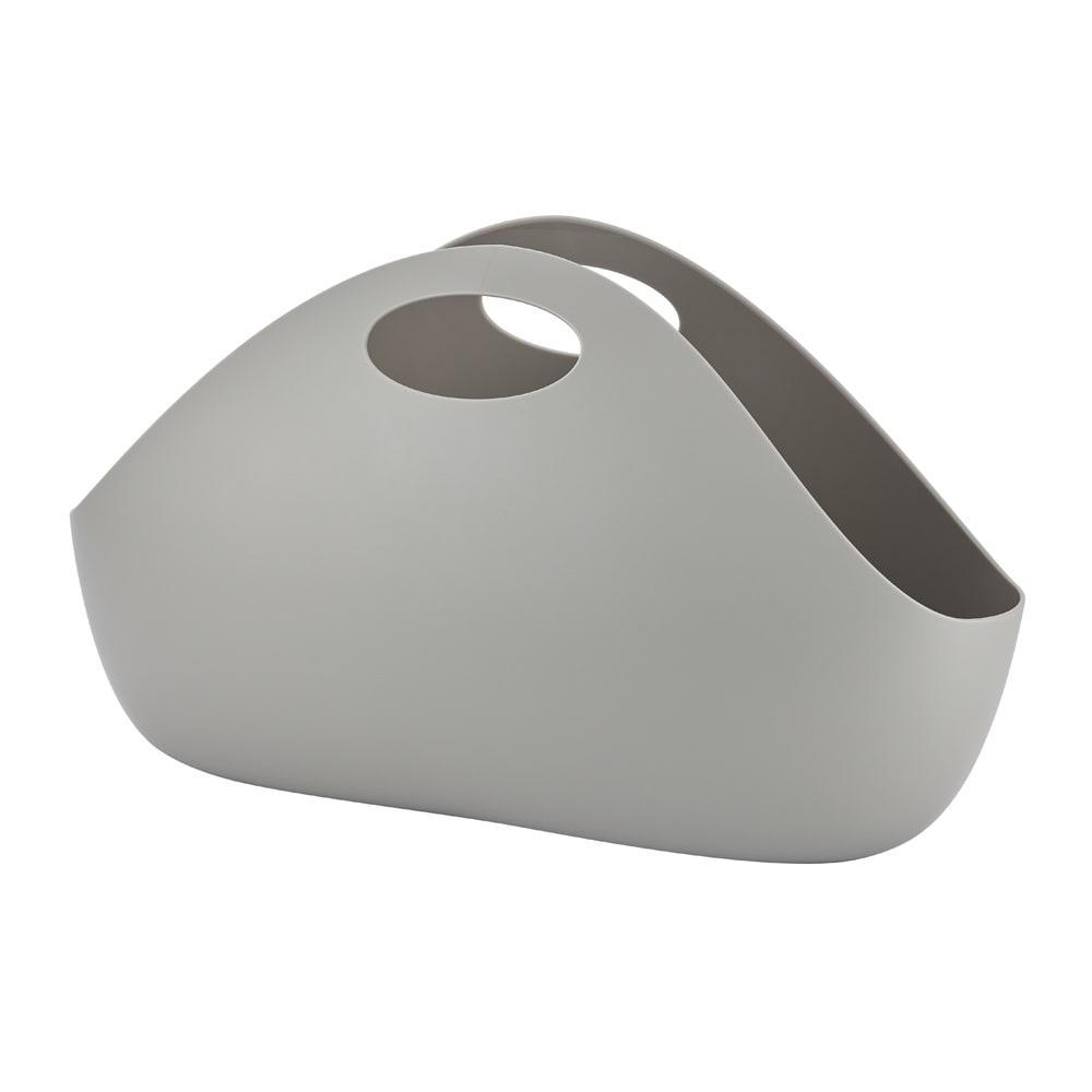 ENOTS/エノッツ インテリアバッグ バスケット 3個セット グレー