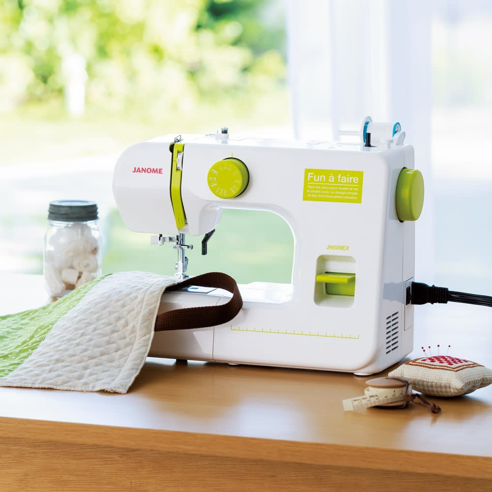 キッチン 家電 電化製品 ミシン ソーイング用品 JANOME コンパクトミシン特別セット 540671