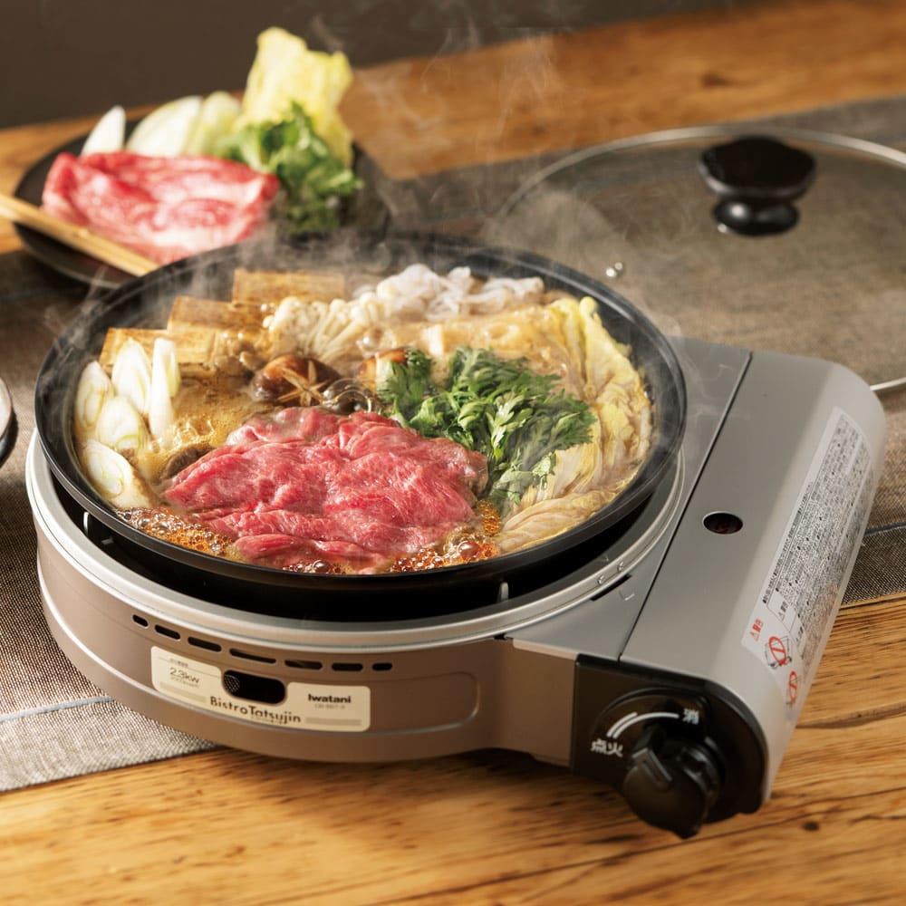 キッチン 家電 キッチン用品 キッチングッズ テーブル小物 iwatani イワタニ ビストロの達人III カセットコンロ 541703