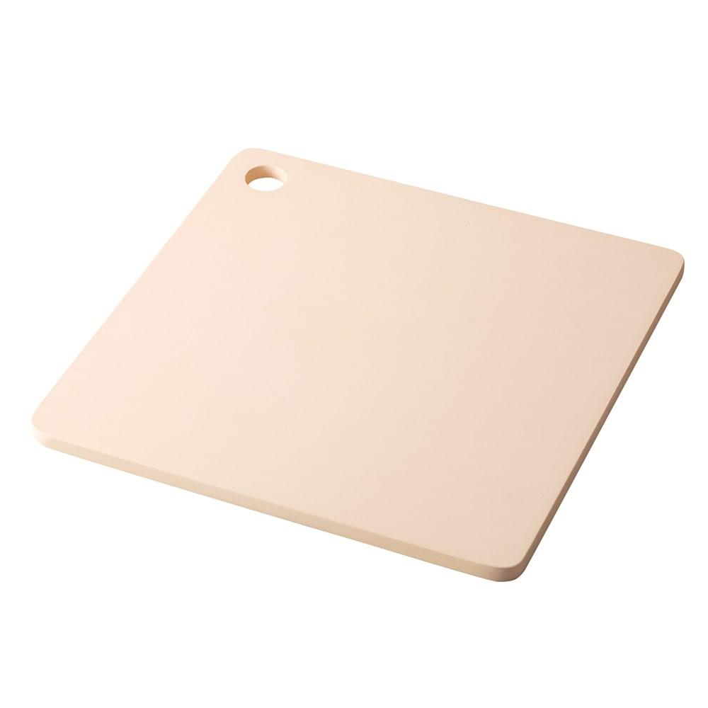 プロも納得 抗菌力が持続するまな板パルト 軽量スクエア ベージュ