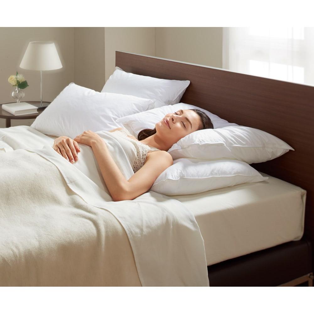 ベッド 寝具 布団 枕 抱き枕 大判 (フォスフレイクス 安眠枕 お得な2個セット(枕のみ)) 545090