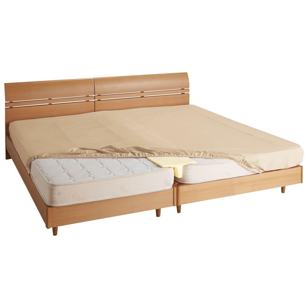 防汚・防塵・防ダニ アンチストレス(R)ベッドシーツ ファミリーサイズ(約幅200・220・240cm) (ウ)ベージュ 汚れに強い快適寝具。ファミリーユースにピッタリ!