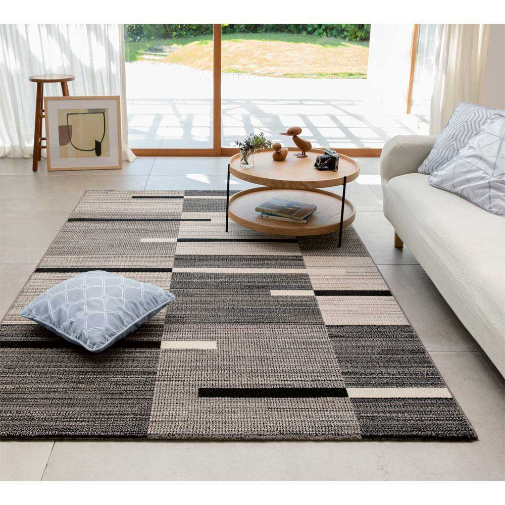 ベルギー製ウィルトン織りラグ〈インフィニティ〉 (写真は約160×230cm)