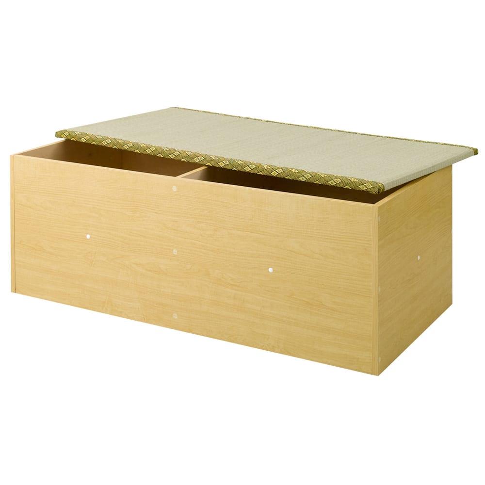 ユニット畳シリーズ 1畳 高さ45cm (イ)ライトブラウン