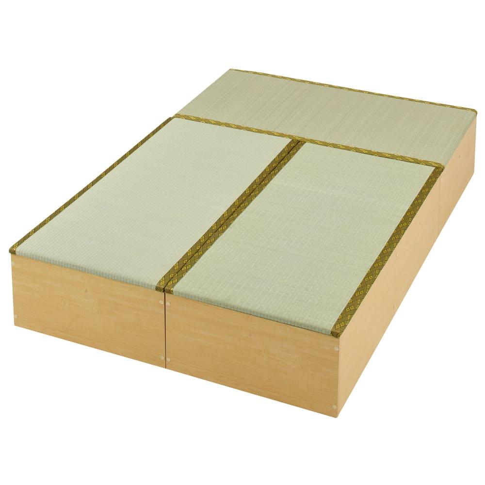 ユニット畳シリーズ お得なセット 3畳セット 幅120奥行180cm 高さ31cm ダークブラウン/ライトブラウン ユニット家具