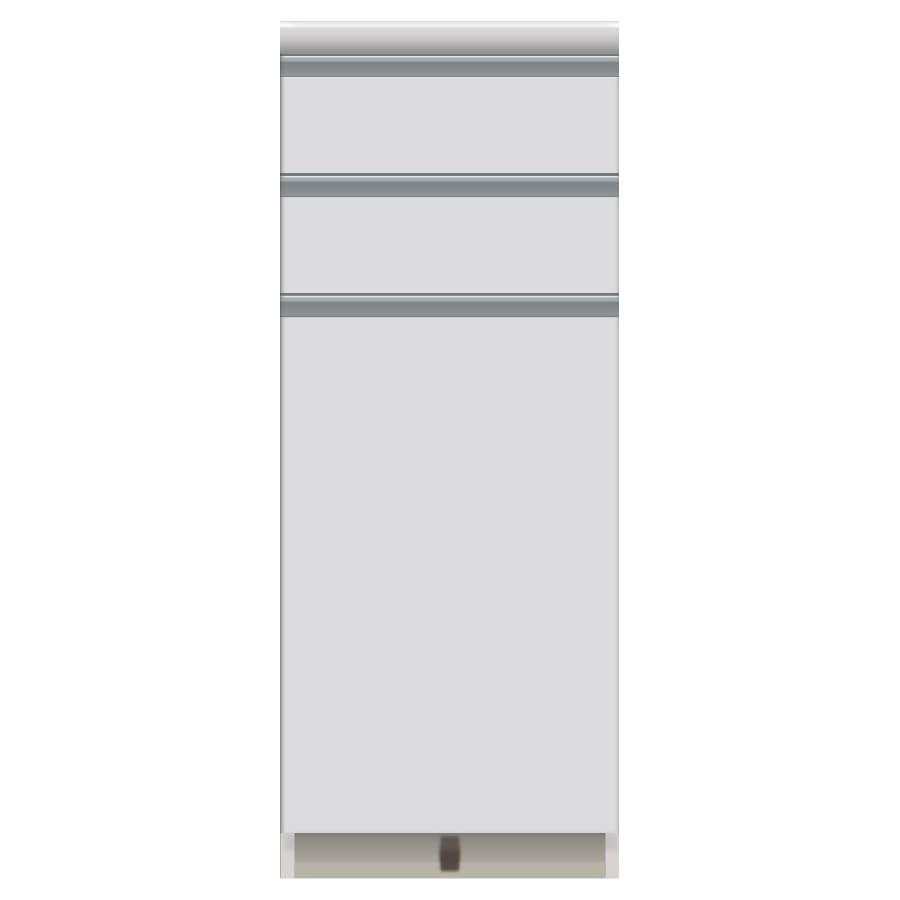 家電が使いやすいハイカウンター奥行45cm キッチンカウンター高さ101cm幅40cm/パモウナVQ-S400KR 下台 お届けの商品はこちらになります。