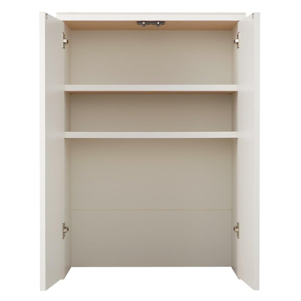 家具 収納 キッチン収納 食器棚 キッチンカウンター カウンターワゴン 組み合わせ自在の薄型人工大理石天板カウンター 扉タイプ幅60cm 549656