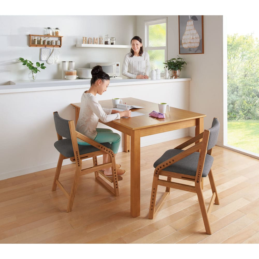 家具 収納 子供部屋 ベビー用品 学習机 勉強机 子供椅子 頭のいい子を目指す子供チェア 座面カバー付き 551802