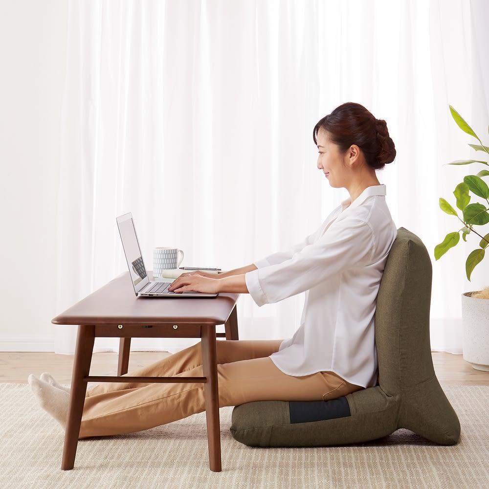 家具 収納 イス チェア 座椅子 テレワークにおすすめ日本製ZAGUN(ザグーン)フロアチェアスラント 551907