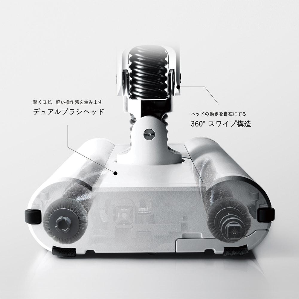 BALMUDA The Cleaner 「浮いているようなかけ心地」を実現する「ホバーテクノロジー」