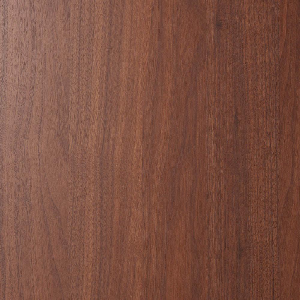 壁面間仕切りワードローブ ハンガーラック2段・幅80cm (ア)ダークブラウン