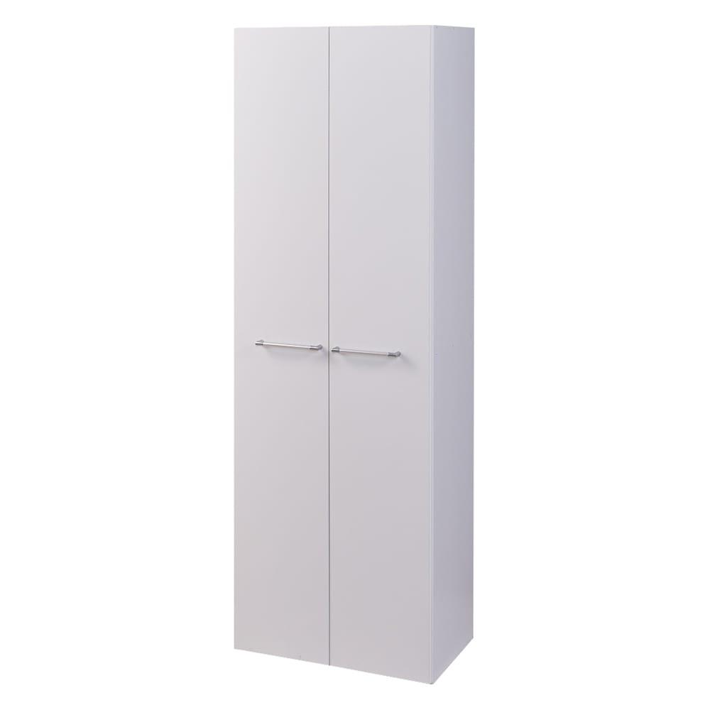 食器からストックまで入る!大容量キッチンパントリー収納庫 幅60奥行40cm (イ)ホワイト