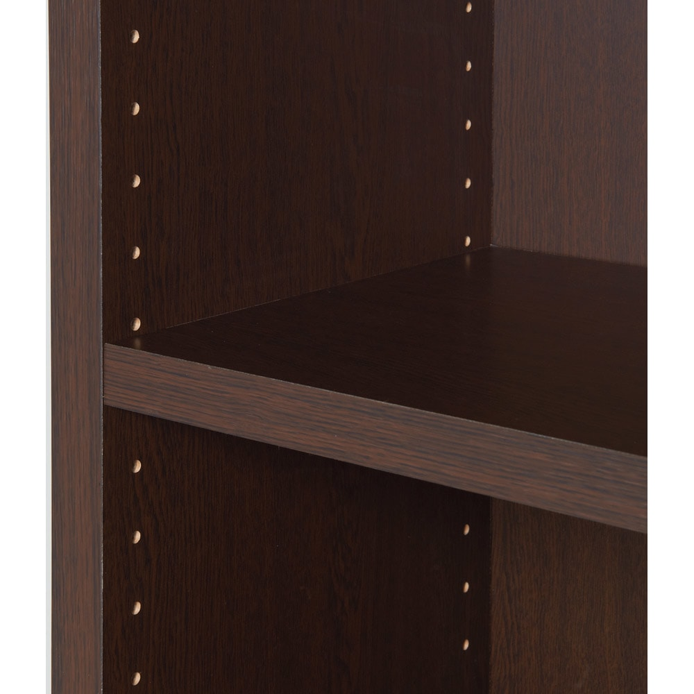 頑丈棚板がっちり書棚(頑丈本棚) ミドルタイプ 幅90cm 棚板は本の高さに応じて3cmピッチで調節できます。