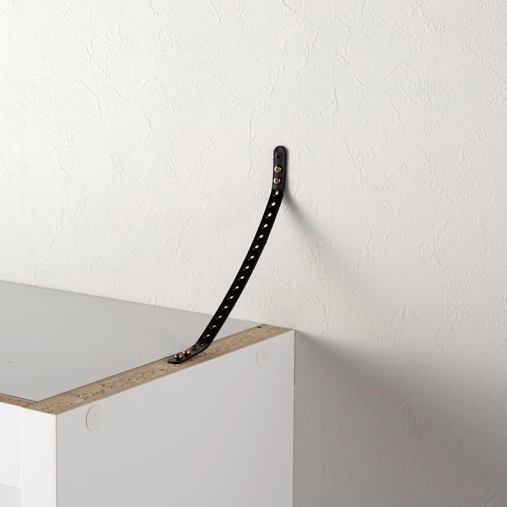 頑丈棚板がっちり書棚(頑丈本棚) ハイタイプ 幅80cm