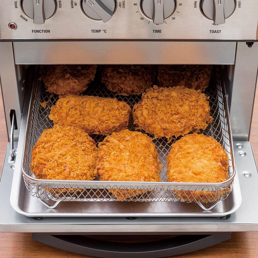 クイジナート エアフライオーブン トースター 単品 (惣菜温め直し)出来たてサクサクがよみがえる。