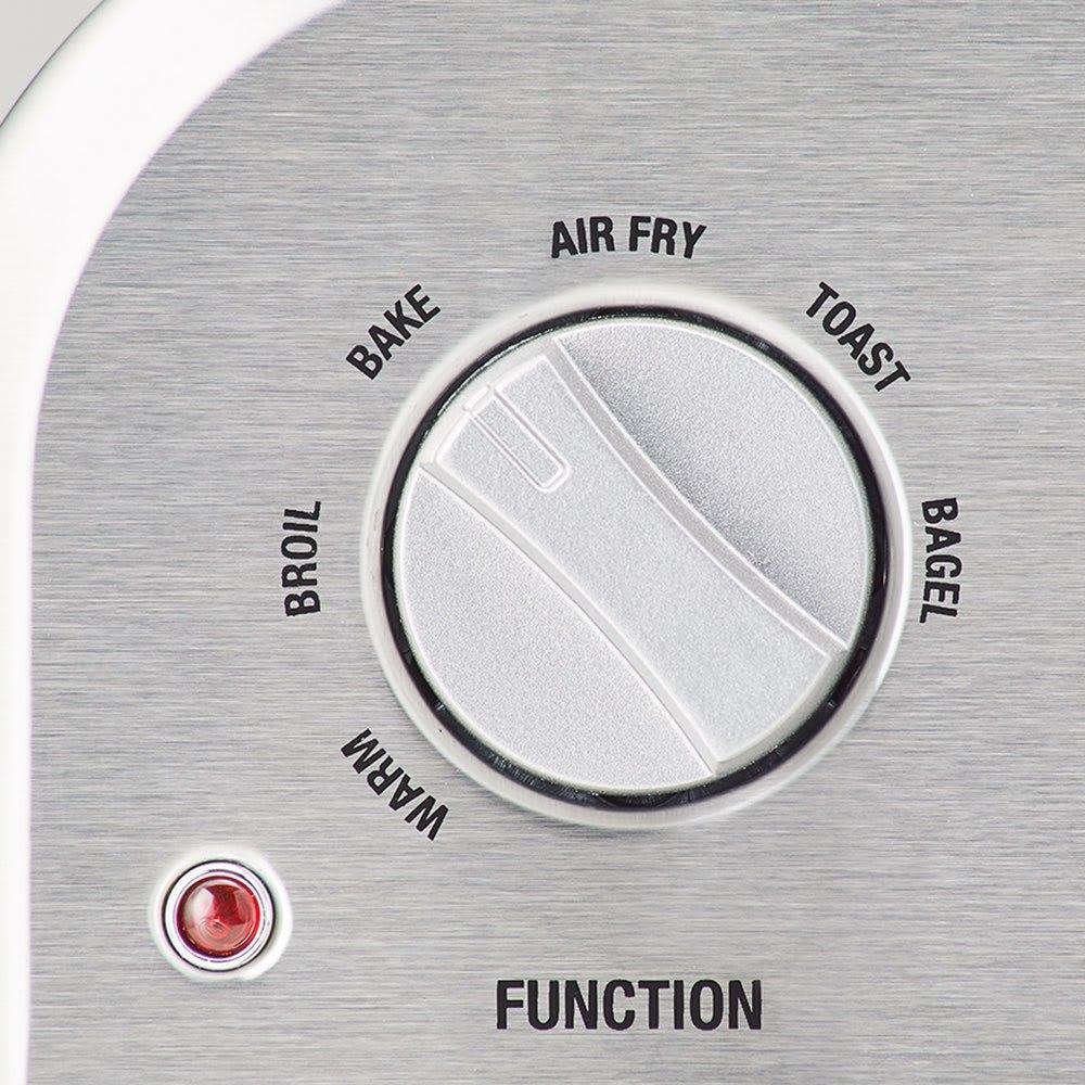 クイジナート エアフライオーブン トースター シルバー色 ミトン付きディノス特別セット【限定800個】 【選べる調理モード】用途に応じて選べる6モード。油なしのノンフライはもちろん、トースター、オーブンとしても使えます。