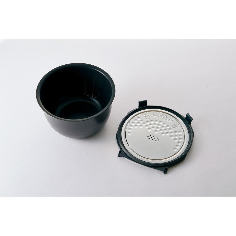 象印 STAN. /スタン IH炊飯ジャー5.5合 蒸気口セットがないので、毎回洗うのは2パーツだけ!