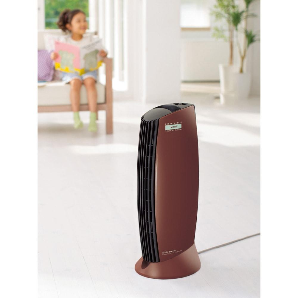 イオニックブリーズMIDI (キ)チョコレート 高級感のある光沢のチョコレート色です。お部屋のインテリアにもマッチします。