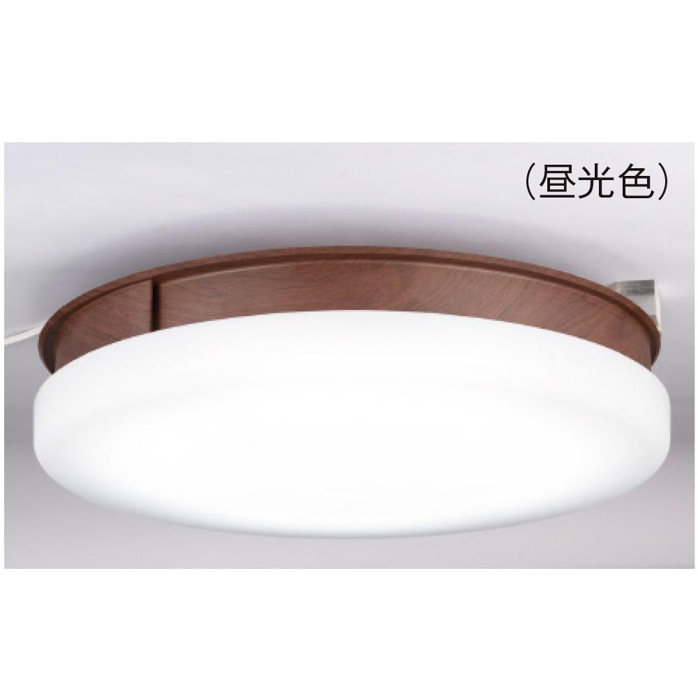 新LEDスマートシーリングファン「UZUKAZE」 (イ)木目調(昼光色) 調光は1 0段階・調色(電球色~昼光色)は20段階。