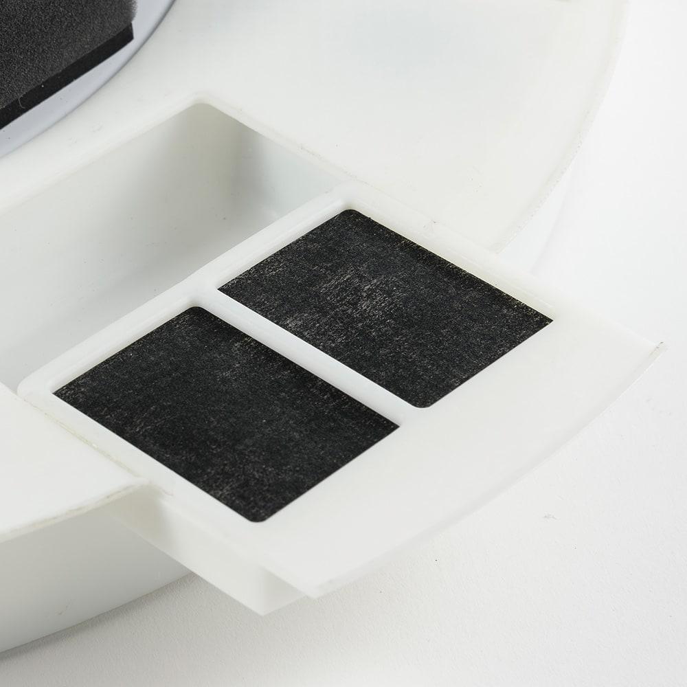 新LEDスマートシーリングファン「UZUKAZE」 フィルターで吸い込んだホコリやニオイもクリーンに。
