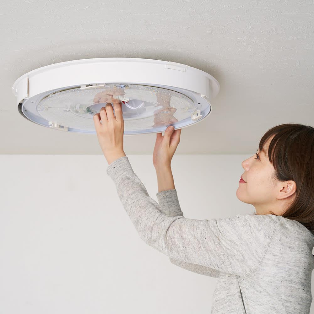 新LEDスマートシーリングファン「UZUKAZE」 引っかけシーリングにかけるだけで取り付け簡単。工事不要です。