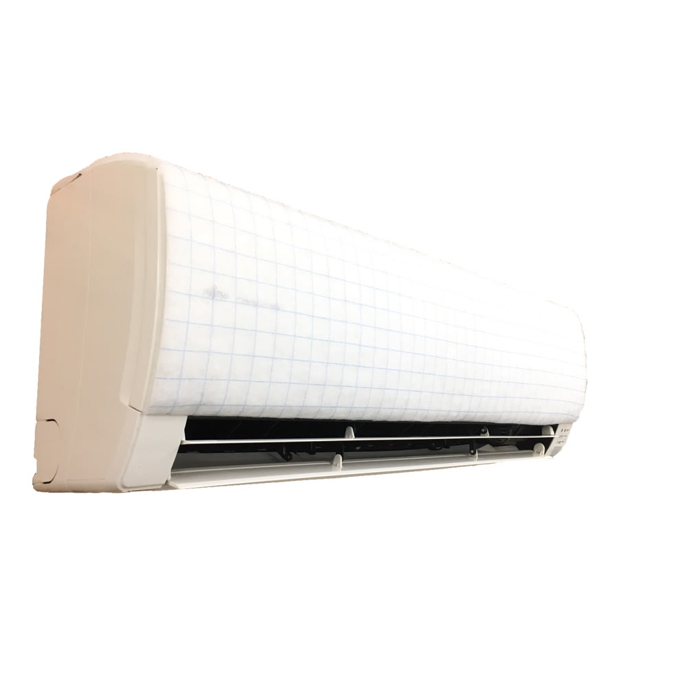 エアコン用除菌・消臭フィルター「ホワイトプラチナム」6枚セット ※設置例