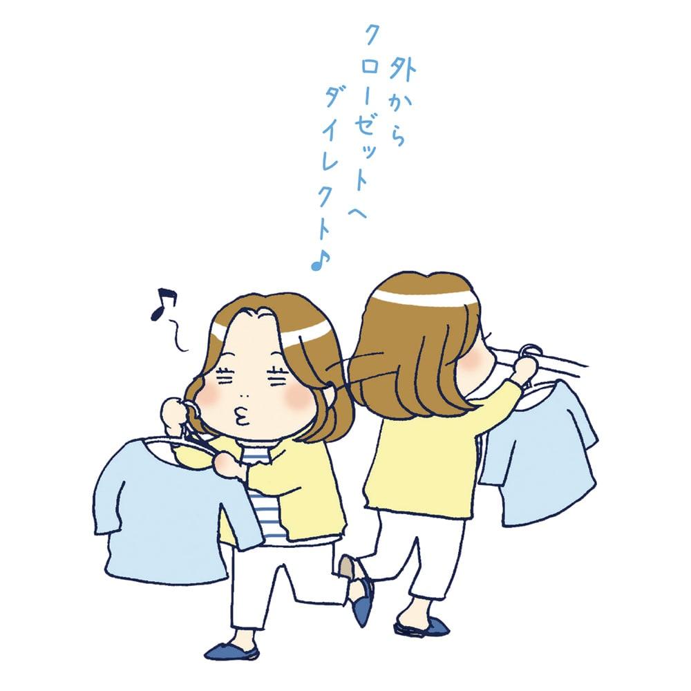 MAWA/マワ 洗濯ハンガー レディススリム
