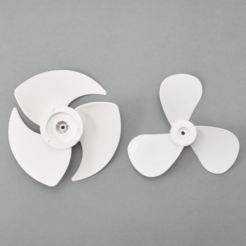 自動首振り機能付き マルチファン 3連 昨年モデルから羽根の形状も見直し、よりパワフルな風を送り出せるようになりました。
