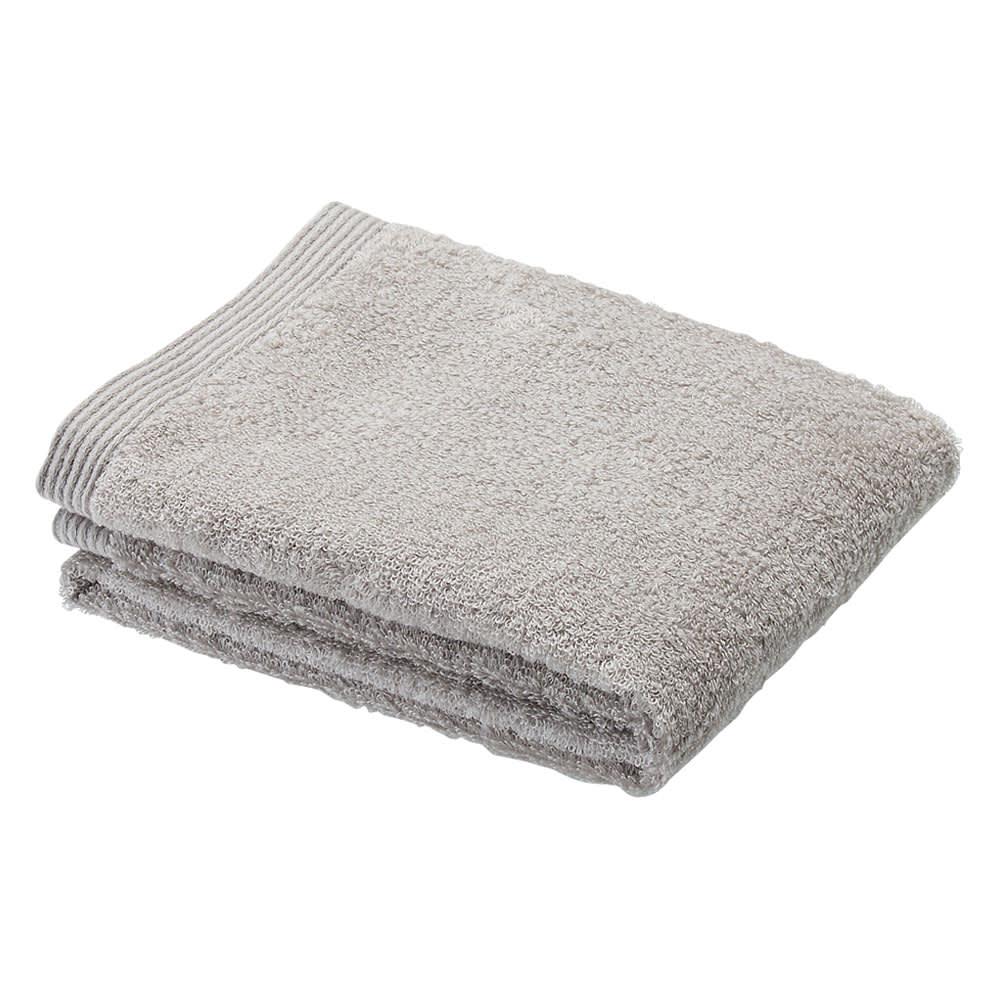洗うほどやわらかくなるタオル バスタオル(色が選べる2枚組) (イ)グレー